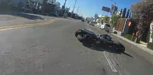 moto accidente