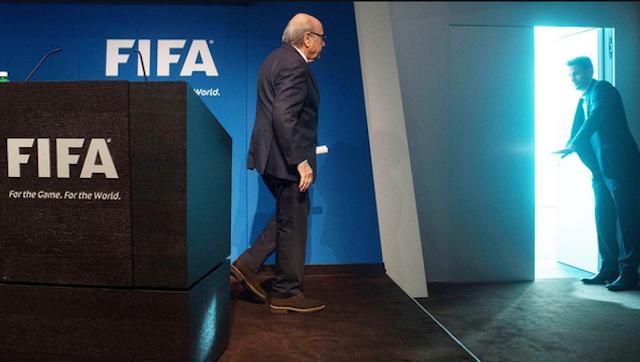 salida de Blatter
