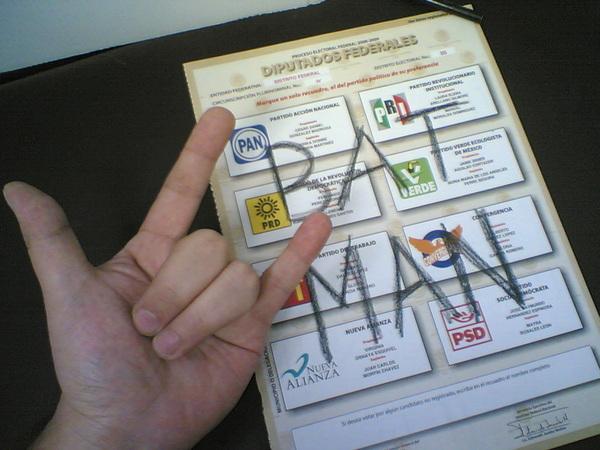 voto nulo