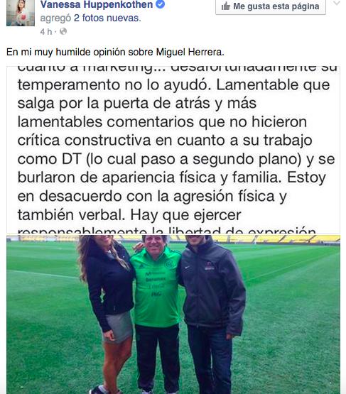 Huppenkhoten Miguel Herrera
