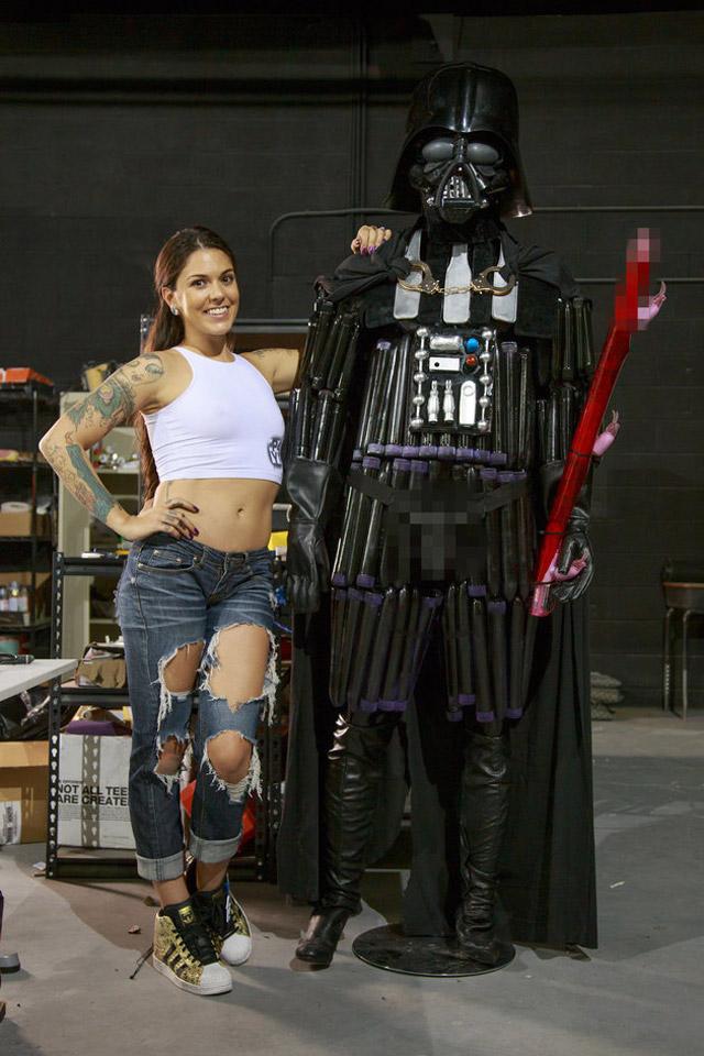 Kayla-Jane-Danger-Darth-Vader