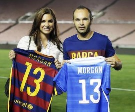 alex morgan andrés iniesta