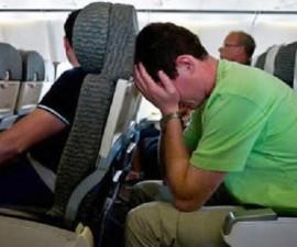 avión miedo