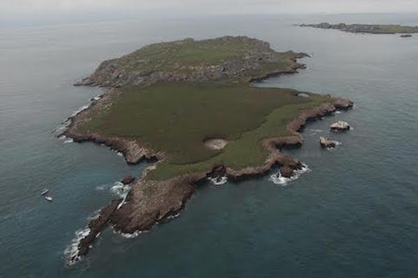Resultado de imagen para las islas marietas en mèxico vista desde un dron