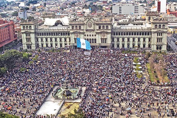 marcha guatemala