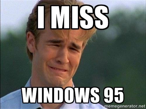 windows 95 meme