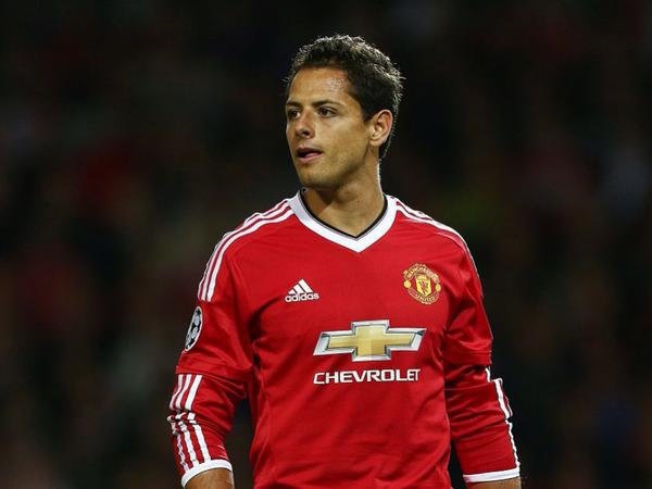 Chicharito-ManchesterUnited-ChampionsLeague