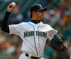 HisashiIwakuma-SeattleMariners-JuegoSinHit-MLB