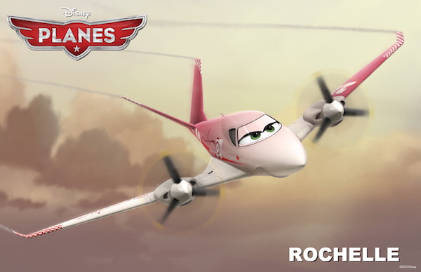 """PLANES"" (Pictured) ROCHELLE. �2013 Disney Enterprises, Inc. All Rights Reserved."