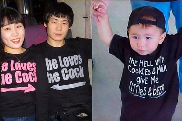 Estos padres no tienen idea de lo que dice la ropa de sus hijos