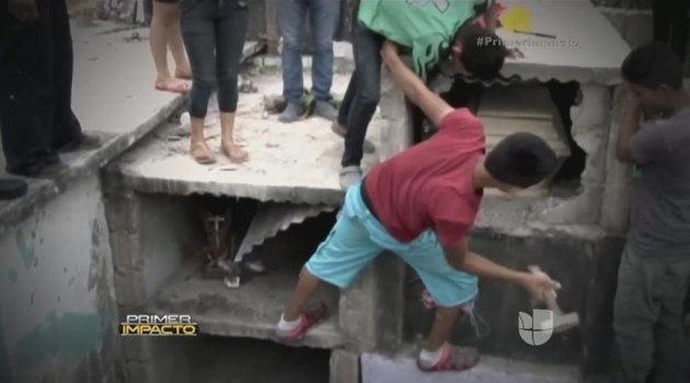Familia saca a su hija de la tumba porque la escucharon gritar