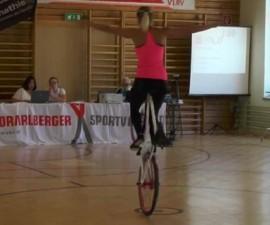 gimnasta bicicleta