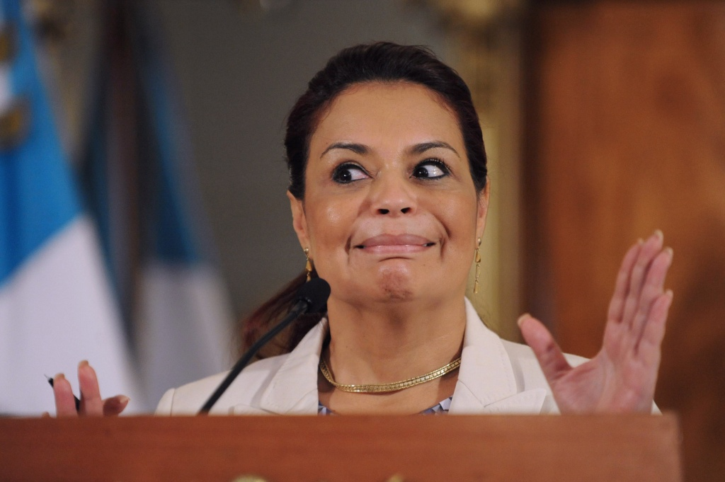 guatemala Roxana Baldetti