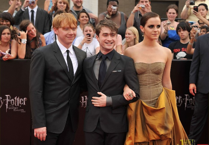 """attends the New York premiere of """"Harry Potter And The Deathly Hallows: Part 2"""" at Avery Fisher Hall, Lincoln Center on July 11, 2011 in New York City."""