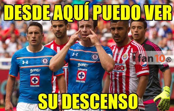 Los memes no perdonan al América y a las Chivas