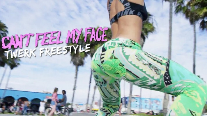"El twerking con ""Can't feel my face"" que los volverá locos"