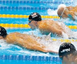 natación, Phelps Lochte