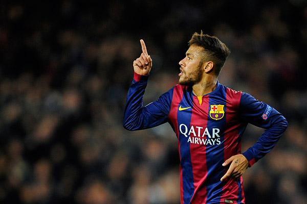 neymar manchester united