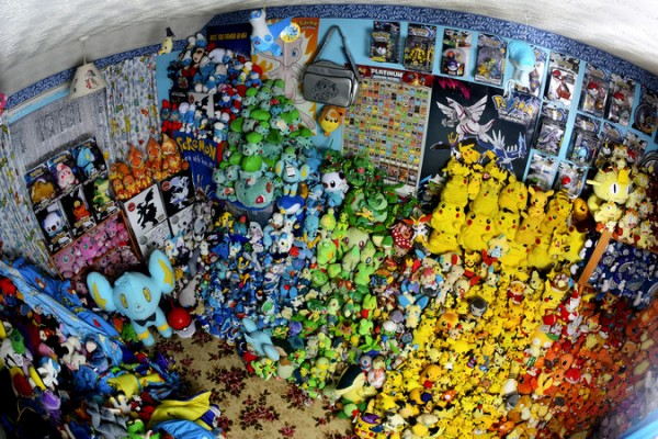 Lisa Courtney; Owner Of World's Largest Pokemon Collection