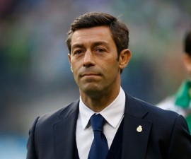 SEATTLE, WA - APRIL 02: Head coach Pedro Caixinha of Santos Laguna walks on to the pitch prior to the match against the Seattle Sounders FC at CenturyLink Field on April 2, 2013 in Seattle, Washington. Santos Laguna defeated the Sounders 1-0.   Otto Greule Jr/Getty Images/AFP