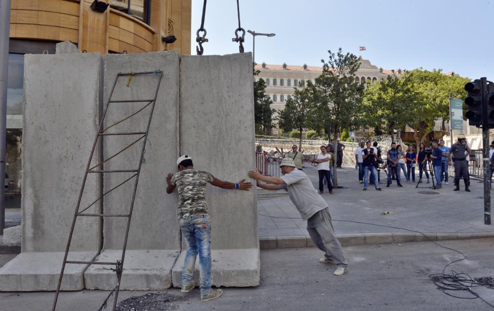 muro libano