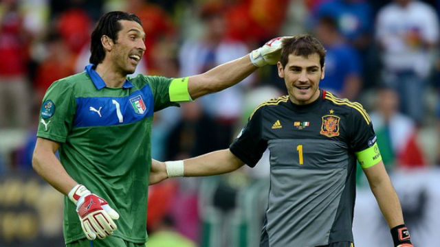 Buffon-x-Casillas