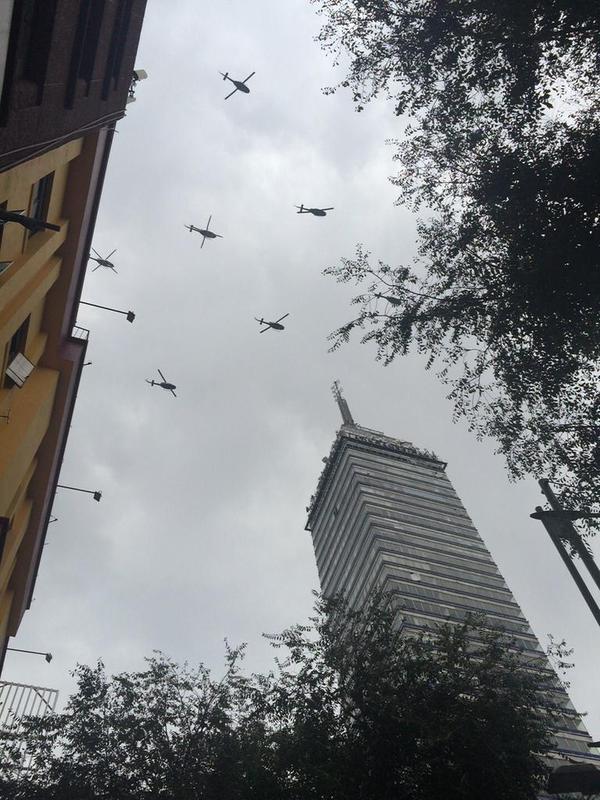aviones desfile