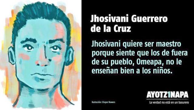 Jhoshivano-Guerrero-Ayotzinapa