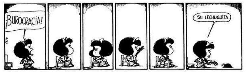 Mafalda-Burocracia