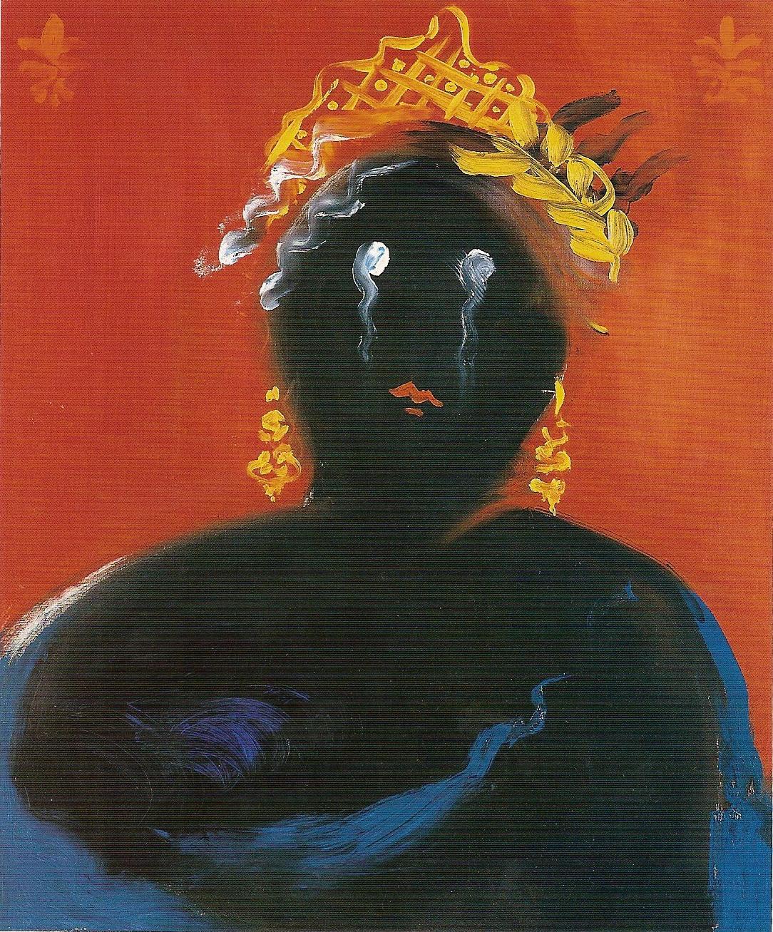 Pintura realizada por Vangelis