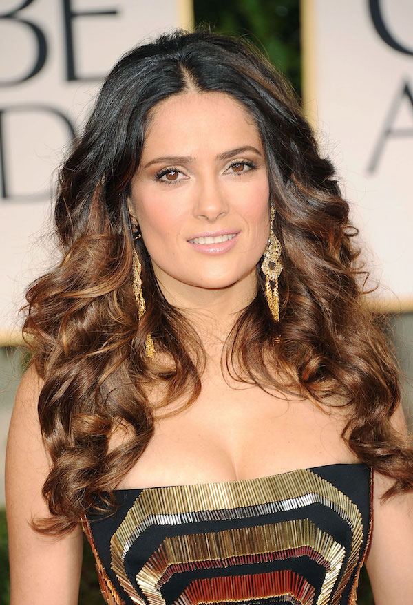 Salma Hayek at 69th Annual Golden Globe Awards in Los Angeles