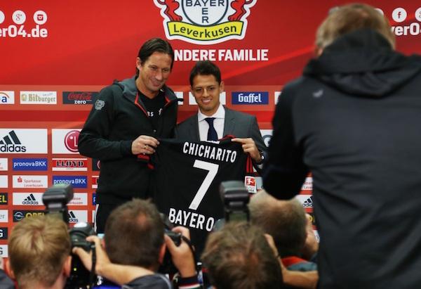 La verdadera razón por la que Chicharito usará el 7 en el Bayer