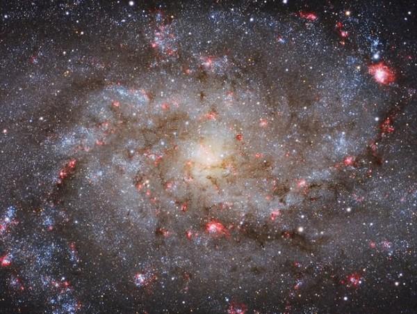 M33 Core, deMichael van Doorn. Categoría: galaxias.