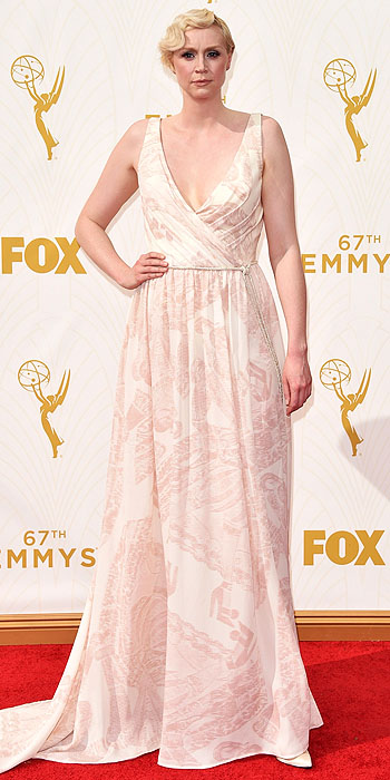 LOS ANGELES, CA - SEPTEMBER 20: Actress Gwendoline Christie attends the 67th Annual Primetime Emmy Awards at Microsoft Theater on September 20, 2015 in Los Angeles, California. (Photo by John Shearer/WireImage)