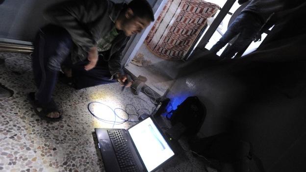 internet siria