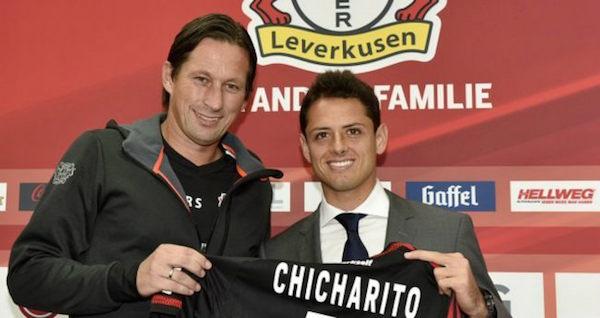El Bayer Leverkusen sintió el primer impacto del Chicharito