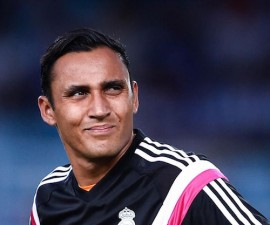 keylor united madrid