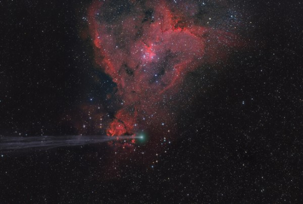 The Arrow Missed the Heart, de Lefteris Velissaratos. Categoría: planetas, cometas y asteroides.