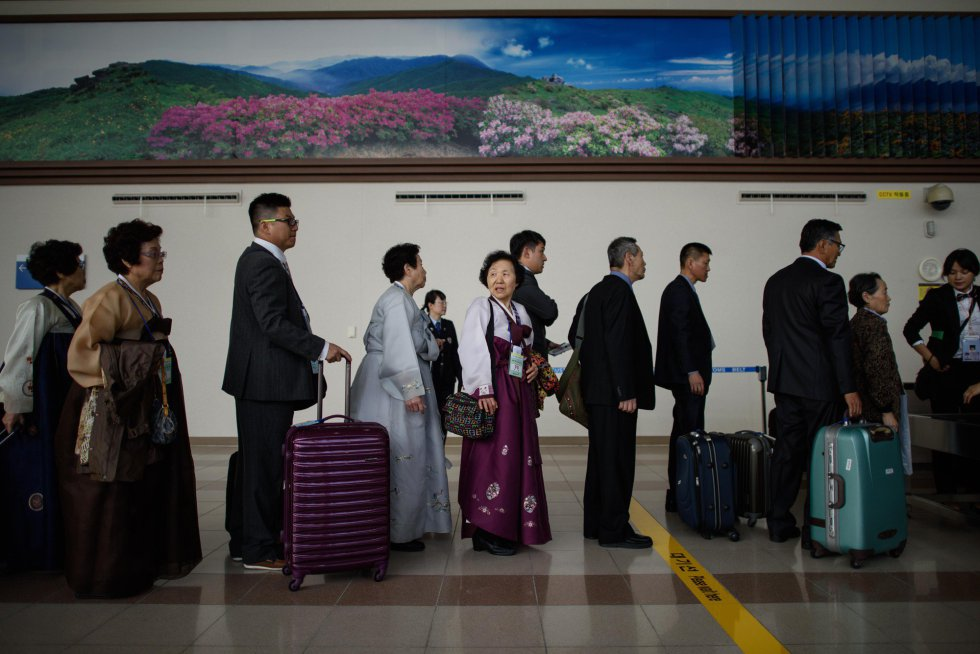 reencuentro corea