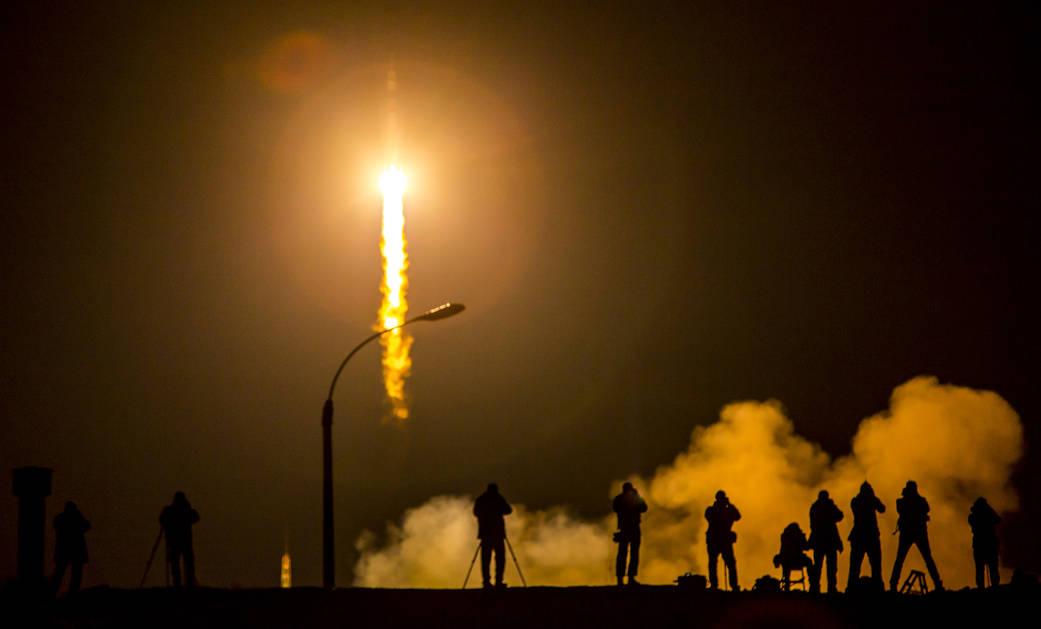 Lanzamiento de la Expedición 53 el 28 de marzo del 2015.