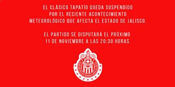 Chivas-Atlas-Suspendido
