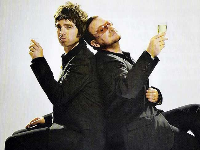 Image result for bono and gallagher
