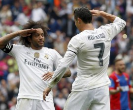 ronaldo real madrid levante