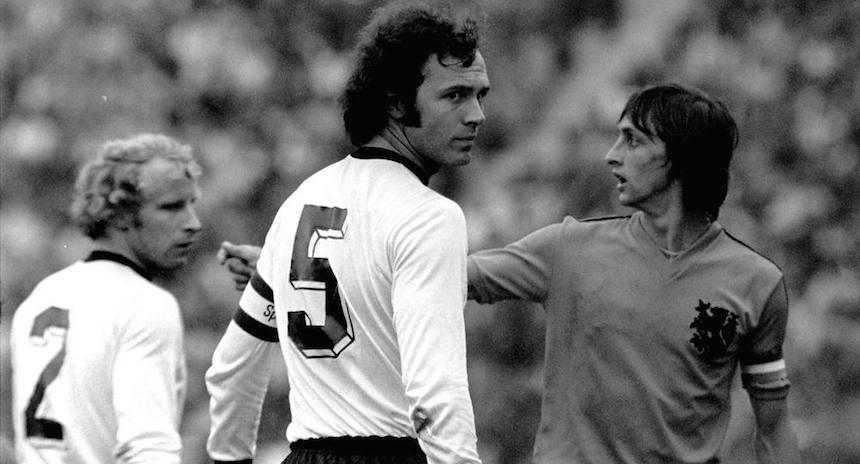 Germany 74 Home Back Franz Beckenbauer, Holland