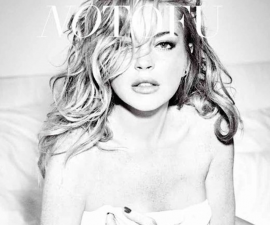 Lindsay Lohan photoshoot No Tofu Magazine