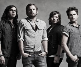 Kings Of Leon posed Uncut 11/2010 sim used