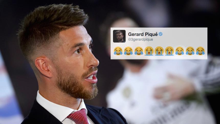 Astonishing Sergio Ramos Quiere Hablar Con Pique Por Su Tweet De Burla Short Hairstyles Gunalazisus