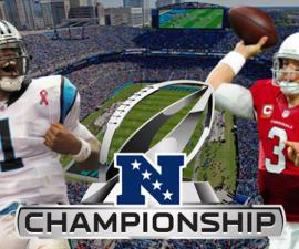 panthers vs cardinals nfc championship