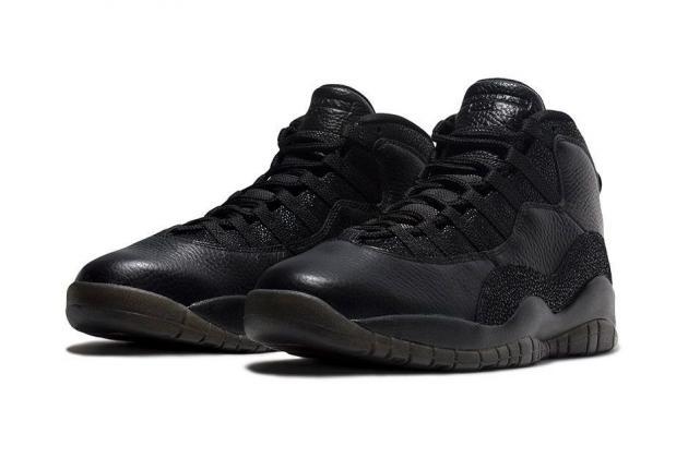 Air Jordan X OVO 'Black'