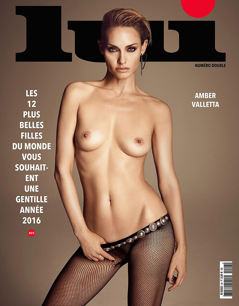 Amber-Valetta Lui Magazine